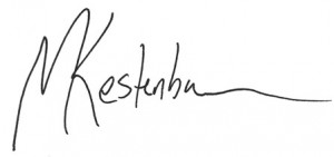 image of matt kestenbaum signature