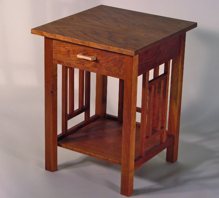 photo of Arts and Crafts Night Stand in Cherry